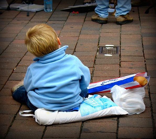German Boy Toddler Preschool Baguette Boy Lad Chil