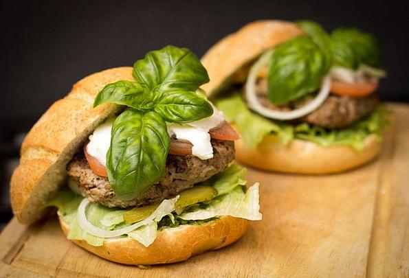 Hamburger Drink Nourishment Food Meal Mealtime Foo
