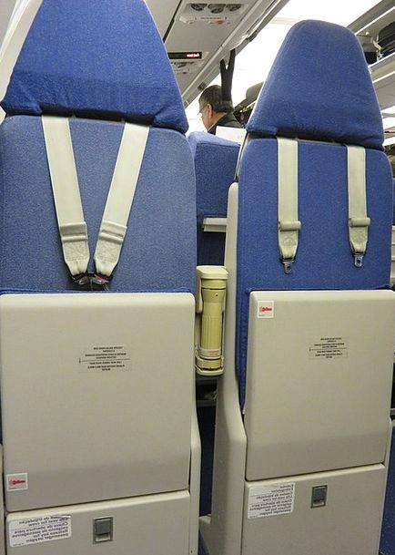 Jump Hurdle Chair Jump Seat Seat Airplane Aircraft