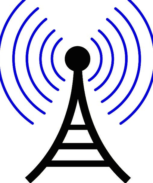 Cellular Tower Communication Net Computer Satellit