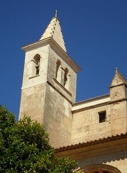 Church Ecclesiastical Tower Barbican Manacor Archi