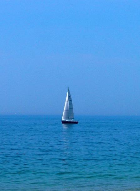 Boat Ship Marine Sunny Sunlit Sea Sail Day Diurnal