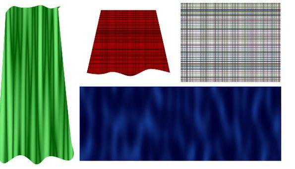 Silk Textures Drape Backgrounds Textile Curtain El