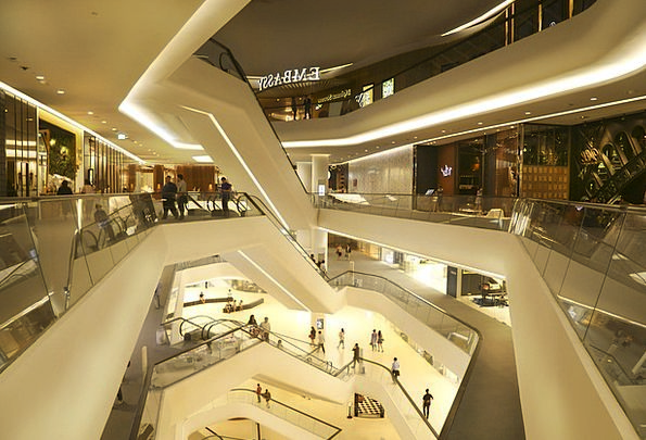 Central Embassy Shopping mall Store Stock Mall Esc