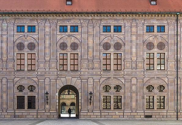 Trompe L Oeil Buildings Architecture Munich Kaiserhof History