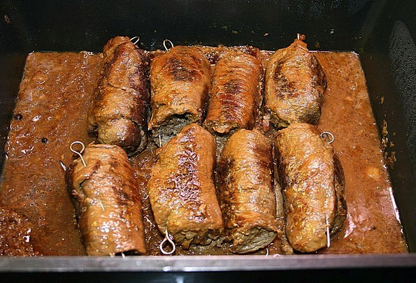 Roulades Drink Food Meat Rolls Beef Roulades Edibl