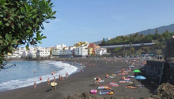 Tenerife Vacation Seashore Travel Jardin Beach Lav