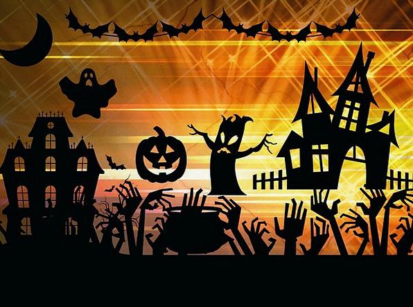 Halloween Spooky Scary Pumpkin Spirit Soul Haunt H