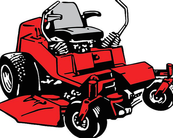 Mower Traffic Mechanism Transportation Lawn Grass