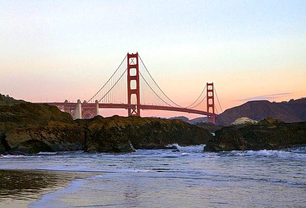 Golden Gate Bridge Vacation Travel Bridge Bond San