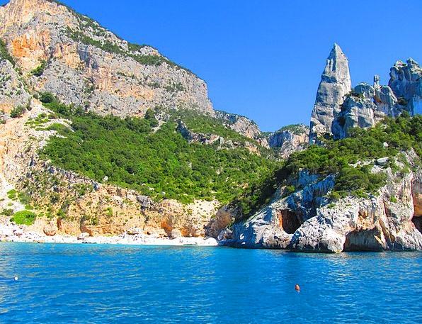 Sardinia Pinnacle Highpoint Goloritzè Sea Marine R
