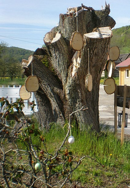 Easter Tree Tree Stump Easter Hung Suspended Tree