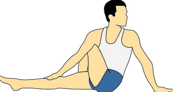 Exercise Give Stretching Widening Stretch Flexible