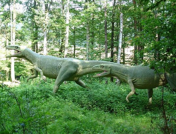 Dinosaur Relic Wilderness Wasteland Urzeitlich Rep