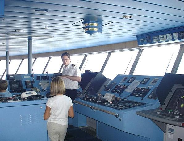 Cockpit Arena Head Ferry Ship Captain Boat