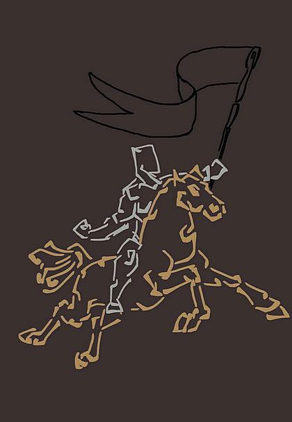 Rider Proviso Cavalier Fight Contest Knight Riding