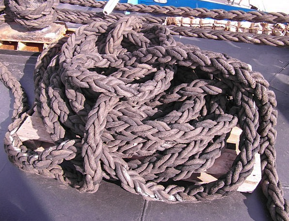 Knot Lump Cord Dew Precipitation Rope Create Ship