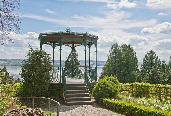 Pavilion Rotunda View Opinion Lake Constance Water