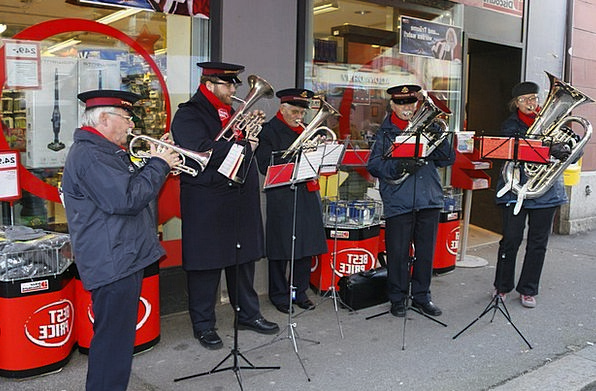 Salvation Army Music Band Christmas Music Advent C
