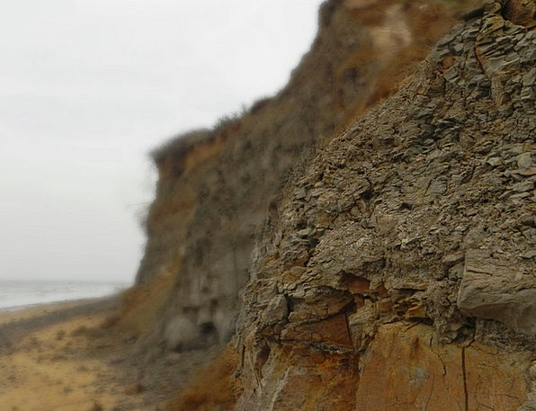Cliff Precipice Corrode Sea Marine Erode Walton Sh