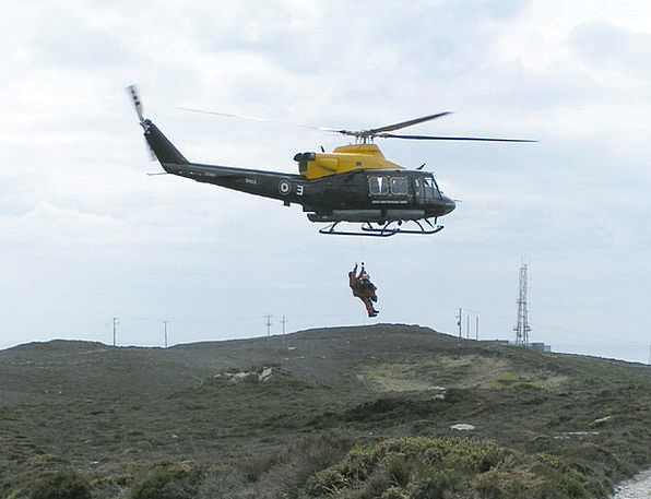Helicopter Airplane Release Anglesey Rescue Emerge