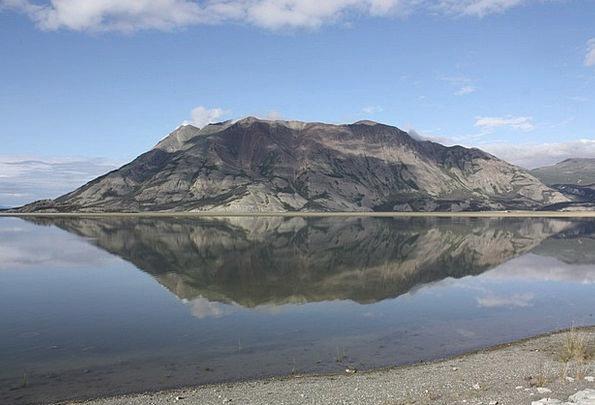 Kluane Lake Landscapes Nature Canada Yukon Nature