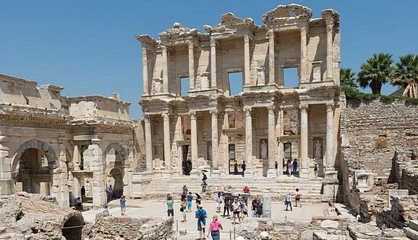 Ephesos Turkey Ephesus Ruins Shells