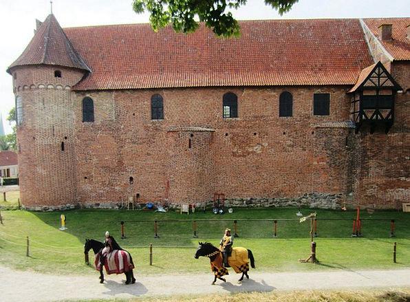 Nyborg Castle Fortress Knight Cavalier Castle