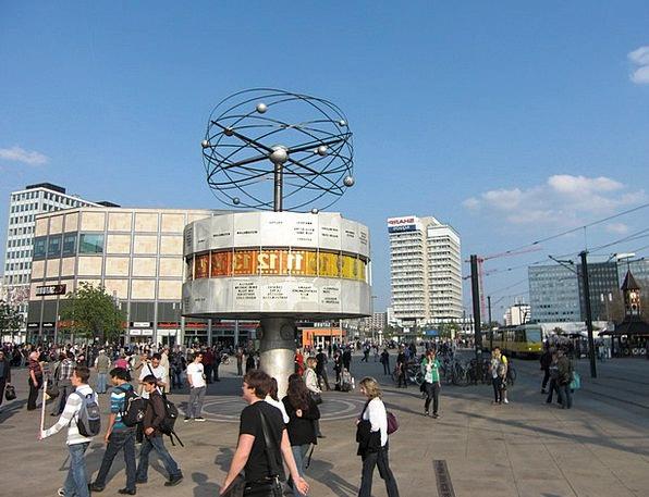 World Clock Alexanderplatz Berlin Capital Wealth