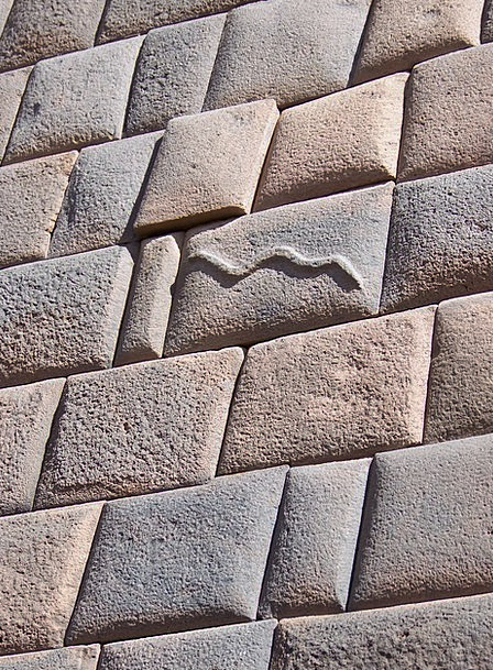 America Inca Peru Wall Partition Snake Symbol Serp