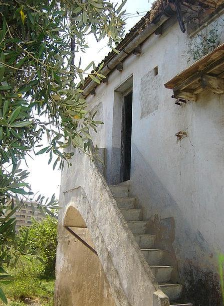 Farmhouse Farm Stone House Casa Vieja Ladder Ranki