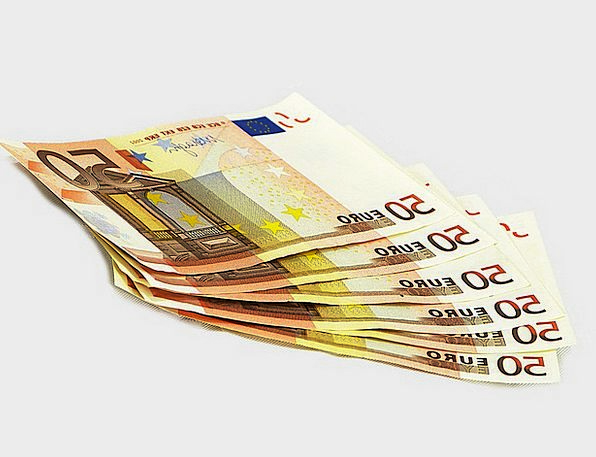 Tickets Permits Finance Business Eur 50 Money Cash