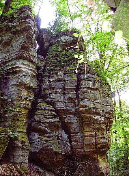 Rock Pillar Devil'S Canyon Sand Stone Sachsen Natu