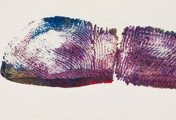 Fingerprint Print Therapeutic Discipline Art Thera