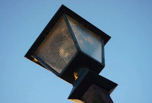 Lantern Uplighter Street Lamp Lamp Historic Street