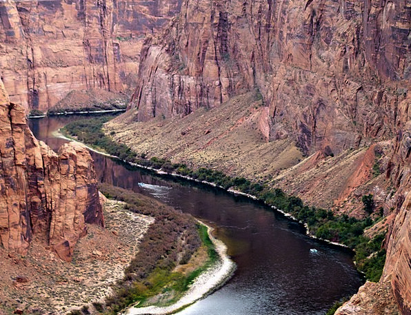 Colorado River Landscapes Stream Nature Water Aqua