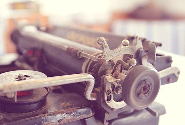 Typewriter Ancient Old Typewriter Old Vintage Out-