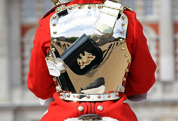 Household Cavalry Soldier Equestrian Royal Regal M