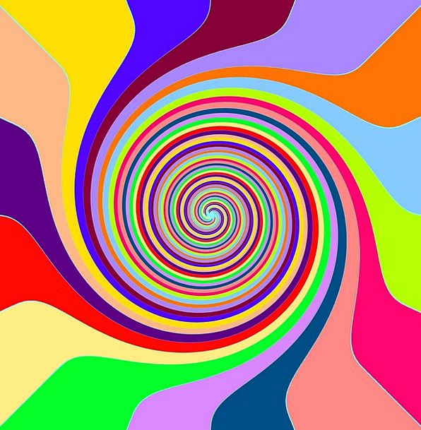 Swirl Twirl Textures Multicolored Backgrounds Chee