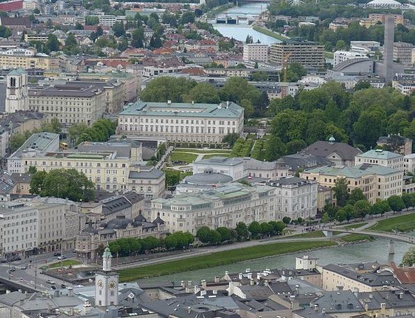 Salzburg City View Neustadt Salzach Promenade Mira