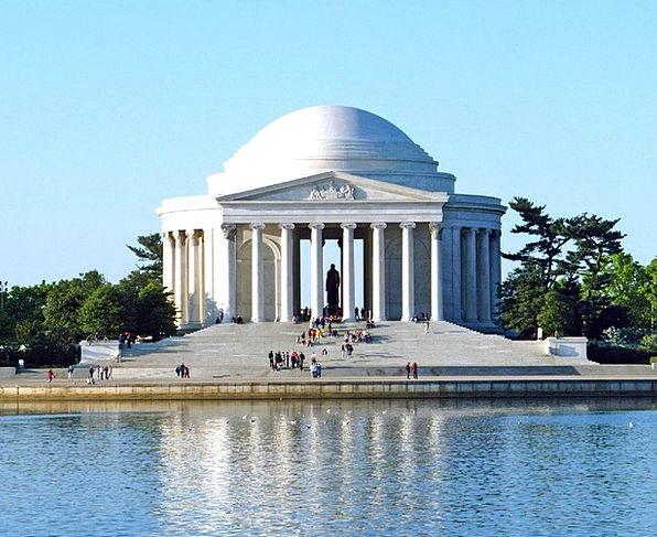Jefferson Memorial Monuments Milestone Places Wash