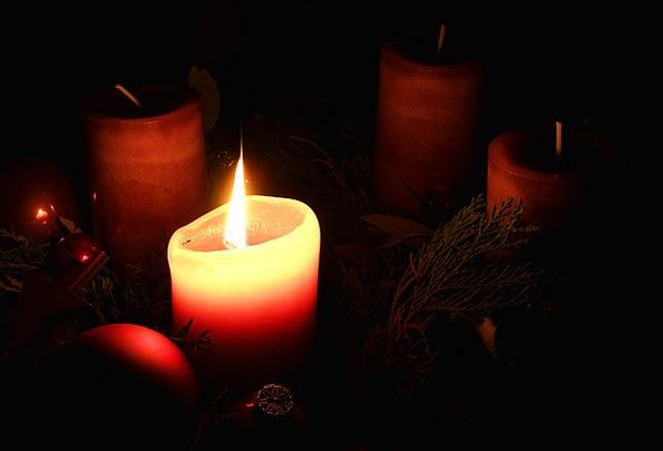 Advent Arrival Christmas Advent Wreath Light Candl