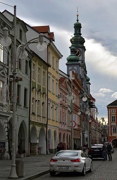 City Urban Buildings Architecture Bohemia Architec