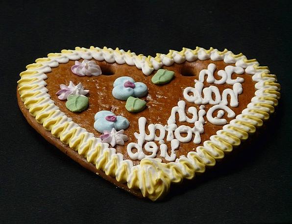 Gingerbread Heart Year Market Gingerbread Font Was