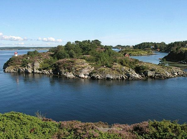 Norway Landscapes Nature Aust Agder Scandinavia Na