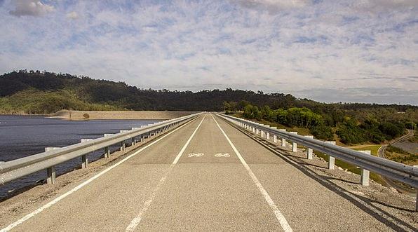 Road Street Traffic Barrier Transportation Water A