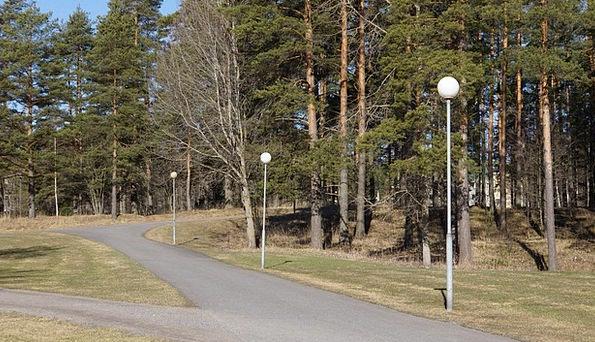 Finnish Coil Pavement Roadway Spring Street Lights