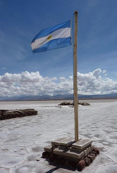 Argentine Landscapes Standard Nature Salt Lake Fla