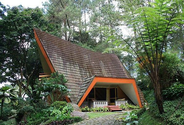 Lodge Landscapes Nature Architecture Building Fore