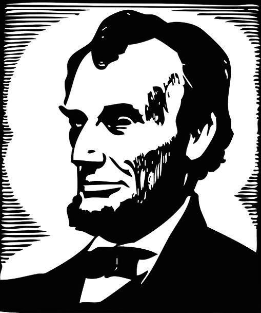 Abraham President Leader Lincoln Usa Portrait Amer